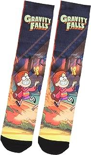 Disney Gravity Falls Mabel Pines Star Rainbow Sweater Sublimated Crew Socks