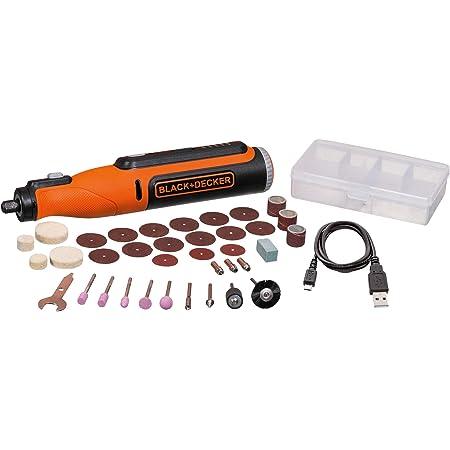 beyond by BLACK+DECKER 8V MAX Rotary Tool with Accessory Kit, Versatile, Cordless, 35-Piece (BCRT8K35APB)