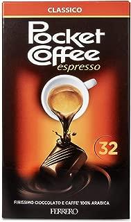Pocket Coffee, confezione da 32 praline - 400 gr