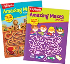 Highlights Amazing Mazes 2-Book Set for Kids - Beginner
