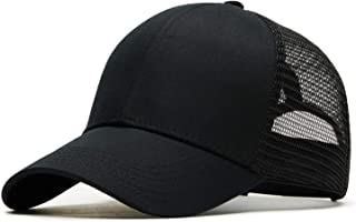 Beauty-OU Baseball Cap Summer Hat Men Women Trucker Mesh Cap Bone Hat for Women Outdoor Relaxation Sports Curve Visor Caps