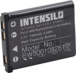 INTENSILO 2X Li-Ion Akku 1300mAh P5100 P100 P530 f/ür Kamera Camcorder Video Nikon CoolPix P80 P6000 wie EN-EL5. P90 P500 P5000 3.7V P510