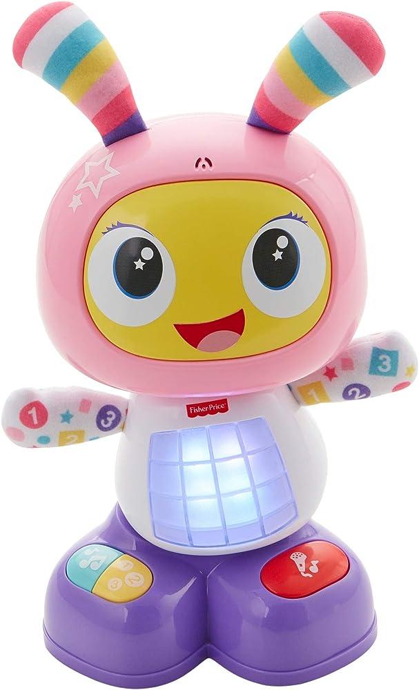 Fisher-price- robottina ballerina, giocattolo interattivo per lo sviluppo dei bambini 9-36 mesi FRV54