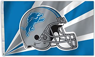 NFL Detroit Lions 3 by 5 Foot Flag