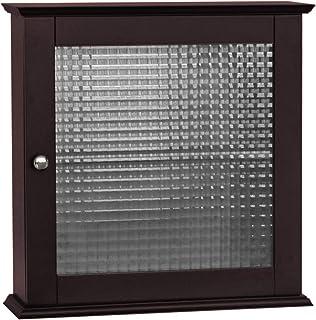 Elegant Home Fashions Chesterfield Bathroom Cabinet, One Size, Espresso