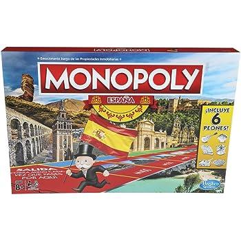 Hasbro Gaming MONOPOLY Juego de Dinero en Efectivo: Amazon.es ...