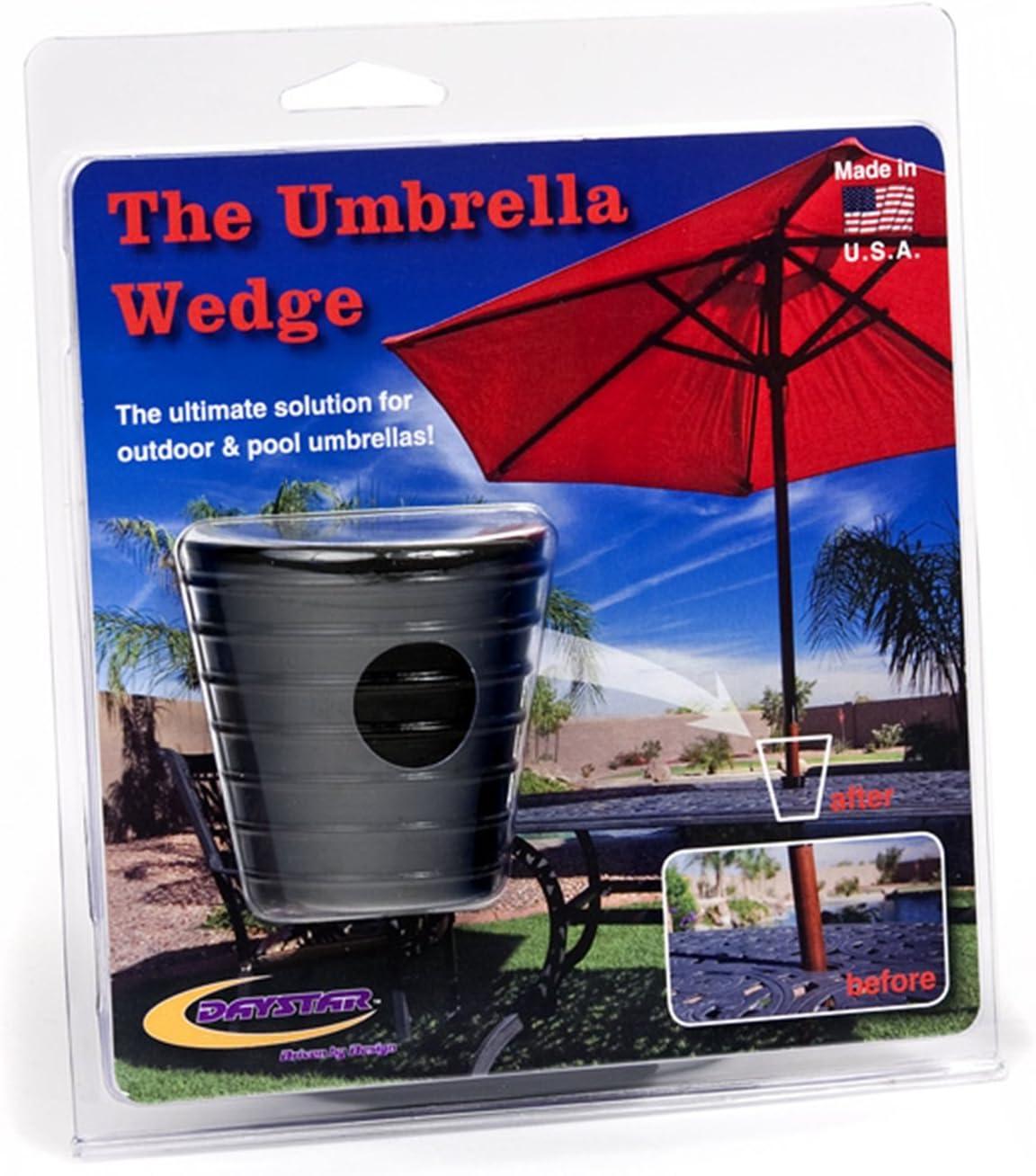 Umbrella Pole Diameter 1 1//2 38mm, Dark Brown Myard MP UW38-DBR Umbrella Cone Wedge Spacer fits Patio Table Hole Opening or Base 2 to 2.5 Inch