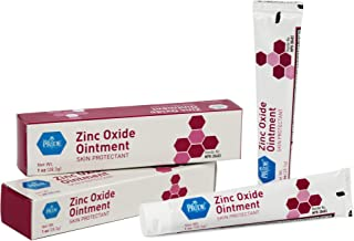 Medpride Zinc Oxide Ointment| 1 Oz Tube| First Aid Home Essentials- for Diaper Rash, Perioral Dermatitis, Eczema, Minor Burns, Chapped/Dry Skin, Minor Cuts, Warts & More (2)