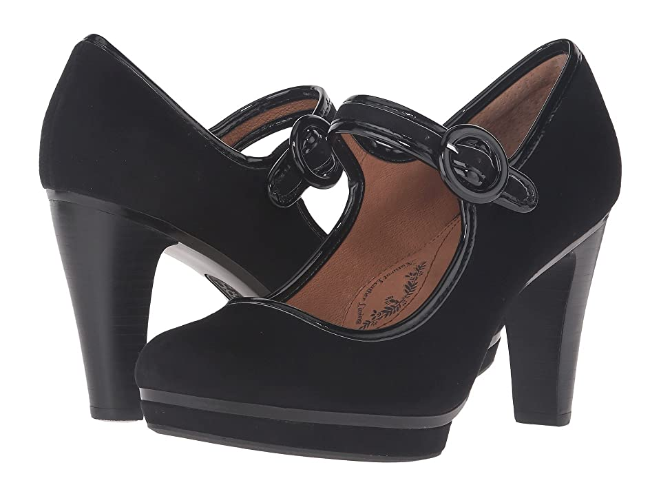 7161d63df7d Sofft Monique (Black King Suede) High Heels