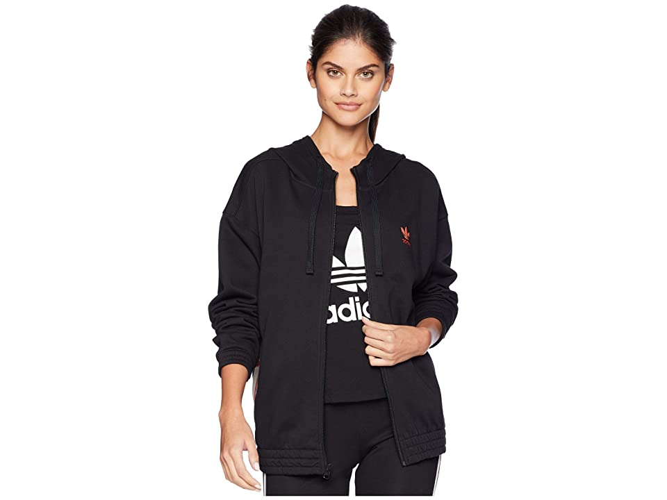 adidas Originals adiBreak Zip Hoodie (Black) Women