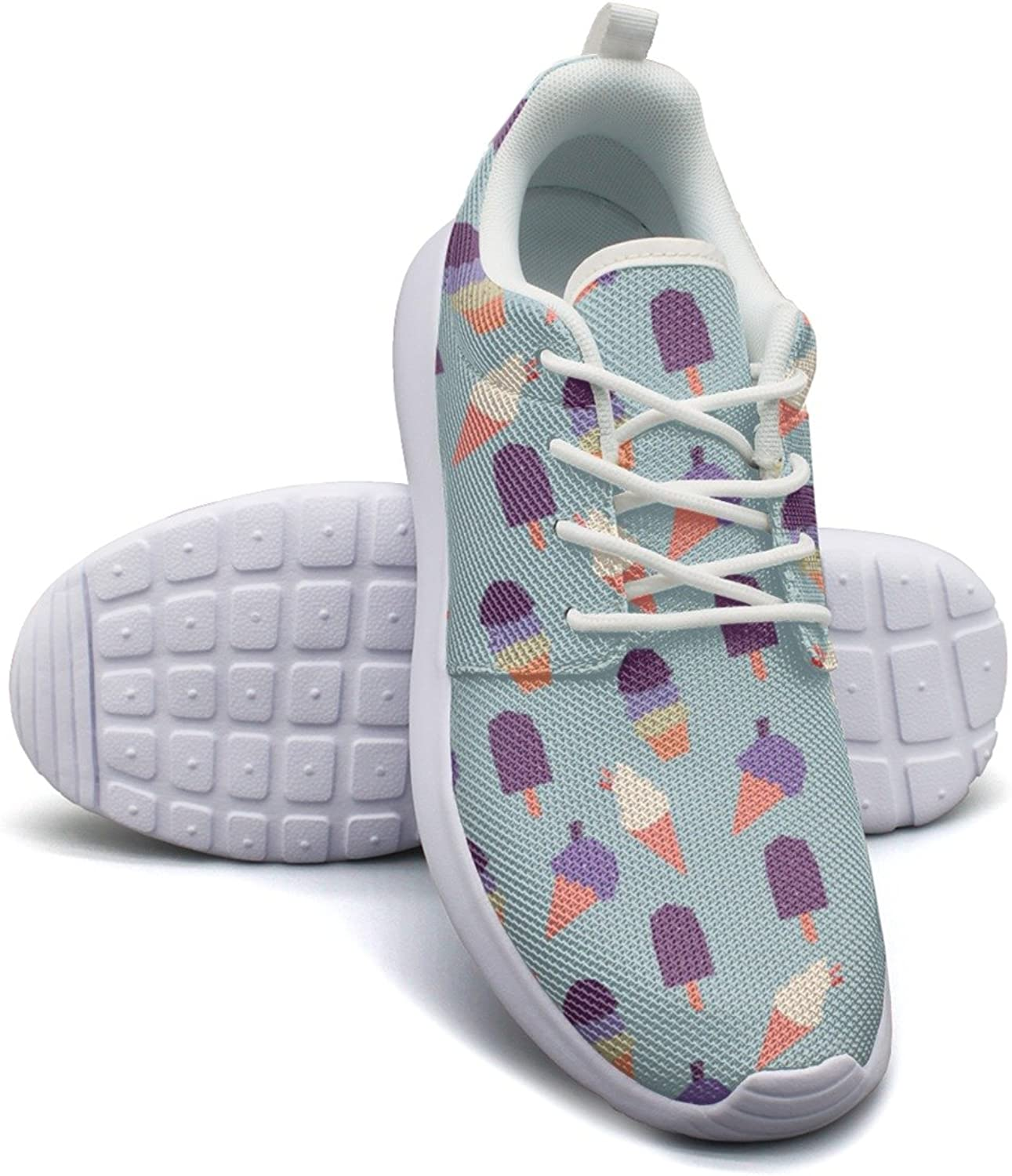 Top Delicious Ice Cream Womens Ladies Navy Running shoes