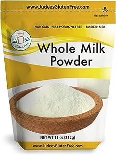 Sponsored Ad - Judee's Whole Milk Powder (11 Oz): NonGMO, rBST Hormone Free, USA Made, Pantry Staple - Baking Ready, Great...