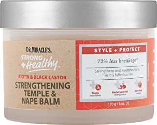 Sponsored Ad - Dr. Miracle's Strong & Healthy Temple & Nape Balm. Contains Aloe Vera and Black Castor Oil for length reten...