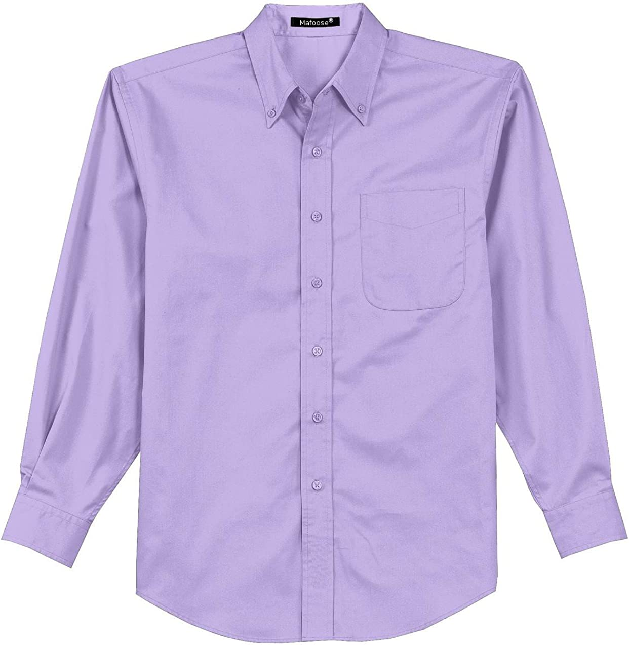 Mafoose Men's Tall Long Sleeve Easy Care Shirt