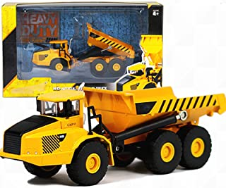 Engineering Vehicle Six Wheel Loading And Unloading Truck Construction Toys Vehicle Models Dump Truck, Toy Trucks for 3,4,...