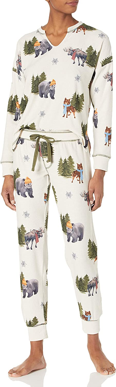 PJ Salvage Women's Loungewear Into The Wild Long Sleeve Top