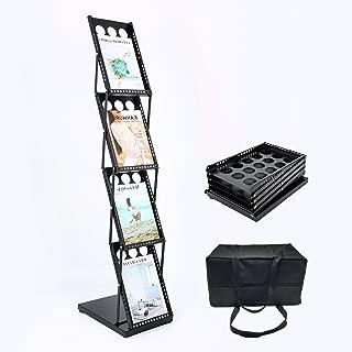 folding literature rack