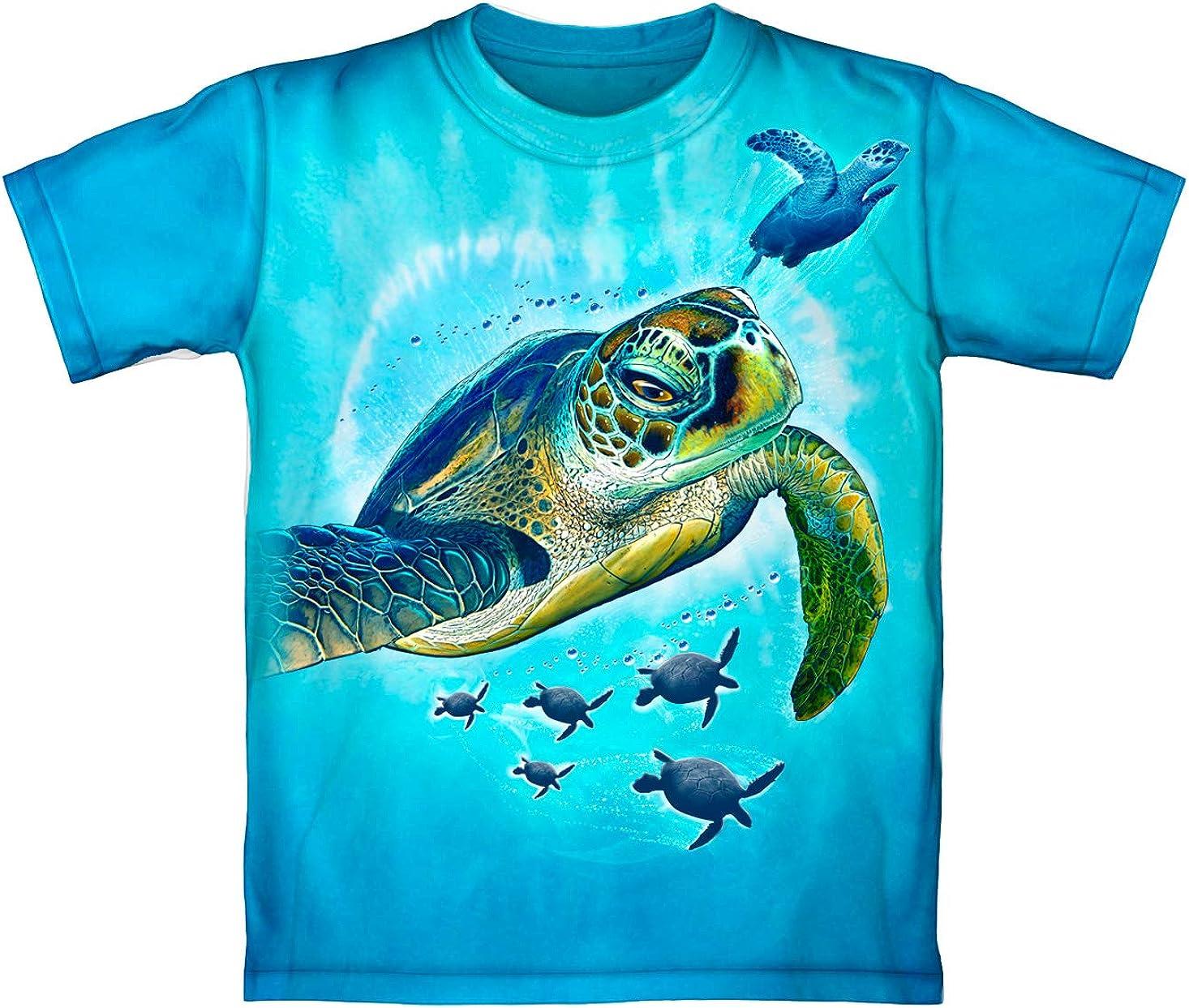 Sea Turtles Tie-Dye Youth Tee Shirt