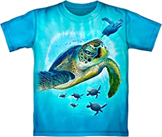 Sea Turtles Tie Dye Adult Tee Shirt