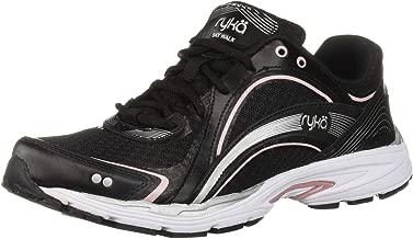 Ryka Women's Sky Walking Shoe, Black/Pink, 8.5 W US