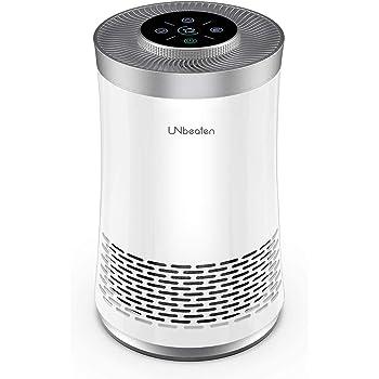 UNbeaten Purificador de Aire de Escritorio para el hogar, sin ozono, Elimina el 99.97% de Polvo, CADR 120m³/h, purificadores de Aire con Verdadero HEPA para alergias, Fumadores: Amazon.es: Hogar