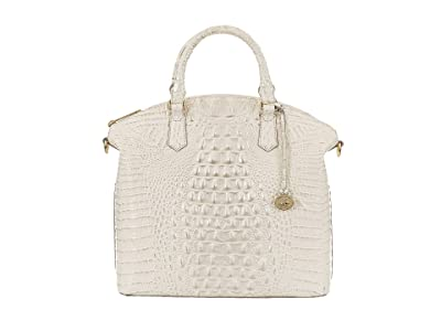 Brahmin Melbourne Large Duxbury Satchel (Daydream) Satchel Handbags