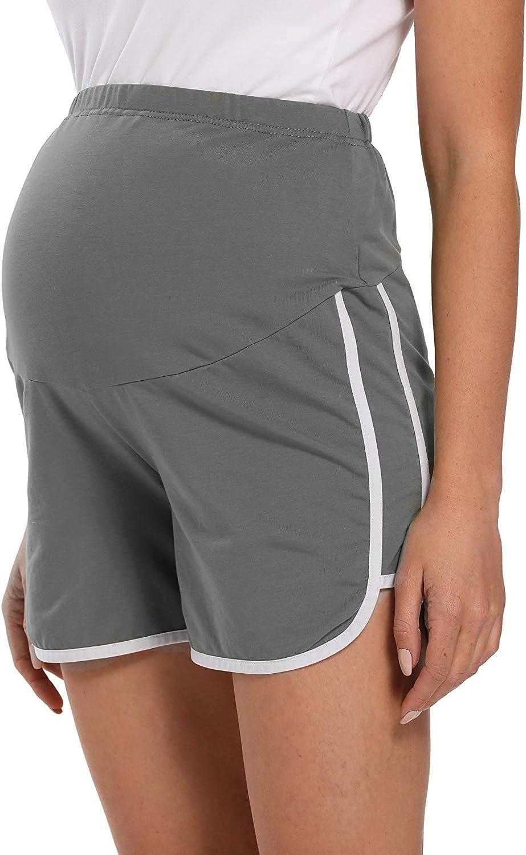 V Vocni Maternity Shorts Women Pregnancy Running Shorts Gym Workout Yoga Sport Performance Shorts For Women At Amazon Women S Clothing Store