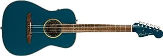 Fender Malibu Classic - California Series Acoustic Guitar - Cosmic Turquoise with Gig Bag