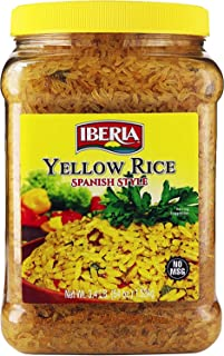 Iberia Yellow Rice Spanish Style, 54 Ounce/3.4 Pounds