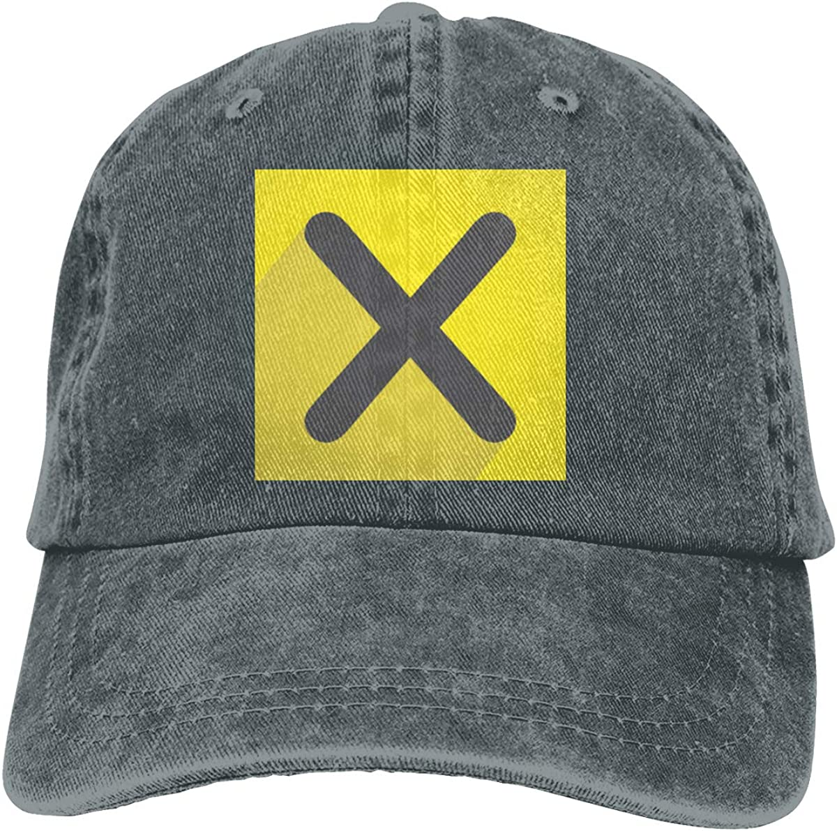 SKFUKS Cowboy Hat Xpress-TV Adjustable Washed Denim Baseball Dad Cap