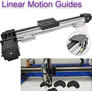 Belt Drive Motorized Linear Stage Actuator 600MM Fast Linear Motion Slide Rails for CNC Linear Position Kit