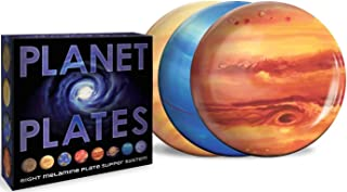 The Unemployed Philosophers Guild Planet Plates, Planet Plates, One Size