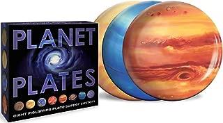The Unemployed Philosophers Guild Planet Plates Set - 10