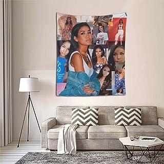 Jhene Aiko Tapestry Dorm Decor for Living Room Bedroom 51x60 Inches