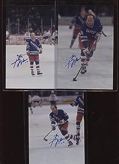 Autographed Guy Lafleur Picture - NHL 3 Different 4 X 6 Photos - Autographed NHL Photos