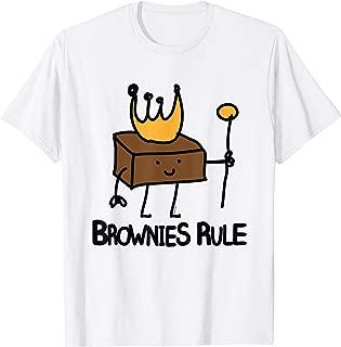 Best brownies rule t shirt Reviews