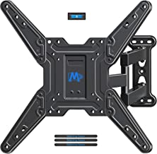 Mounting Dream TV Wall Mount Bracket for Most of 26-55 Inch LED, LCD, OLED and Plasma Flat Screen TV with Full Motion Swivel Articulating Arm up to VESA 400x400mm and 60 lbs, MD2393-MX