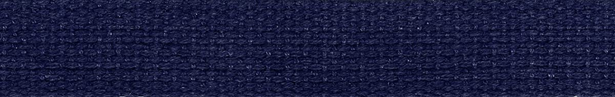 Wrights Cotton Belting, 1-Inch by 10-Yard, Navy