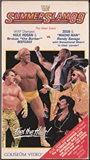 WWF Summerslam '89 VHS