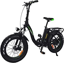 Addmotor MOTAN Electric Folding Bike Bicycle 20 inch Fat tire 750W Removable 11.6Ah Lithium Battery Step-Thru M-140 P7