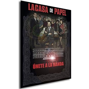 Instabuy Poster La casa de Papel Propaganda Believer - A3 (42x30 cm): Amazon.es: Juguetes y juegos