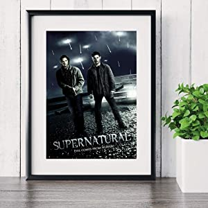 Supernatural TV Play Series Posters And Prints Canvas Art Painting Wall Pictures For Living Room Decoration Home Decor No Framed
