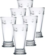 La Rochere Set of 6, 14-Ounce Napoleon Bee Double Old Fashioned Glasses