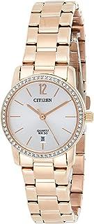 Citizen Women Silver Dial Stainless Steel Band Watch - EU6039-86A