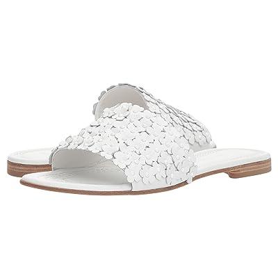 Kennel & Schmenger Elle Floral Slide (White Calf) Women