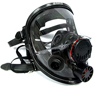 North 760008A Silicone Full Facepiece Respirators 7600 Series – Face Piece Only