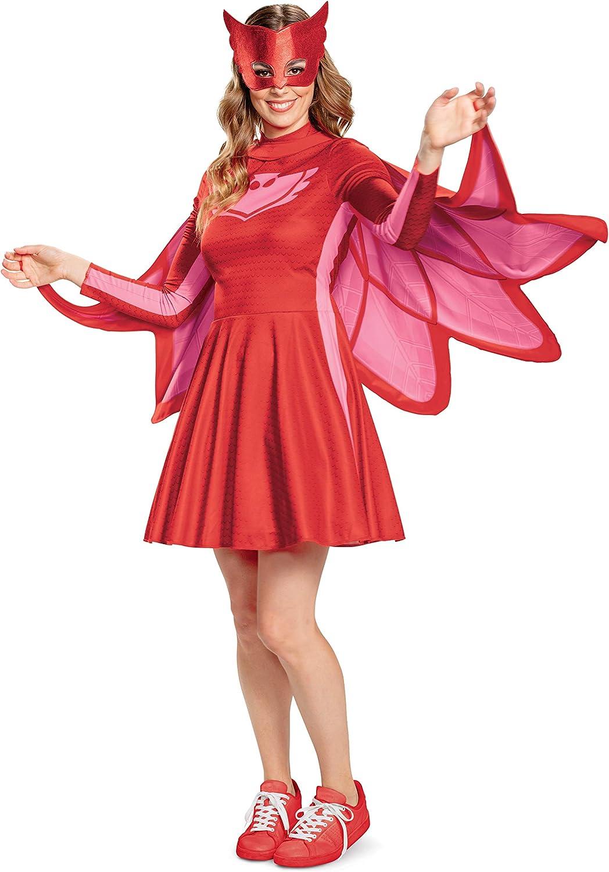 Disguise Owlette PJ Masks Womens Classic Fancy Dress Costume