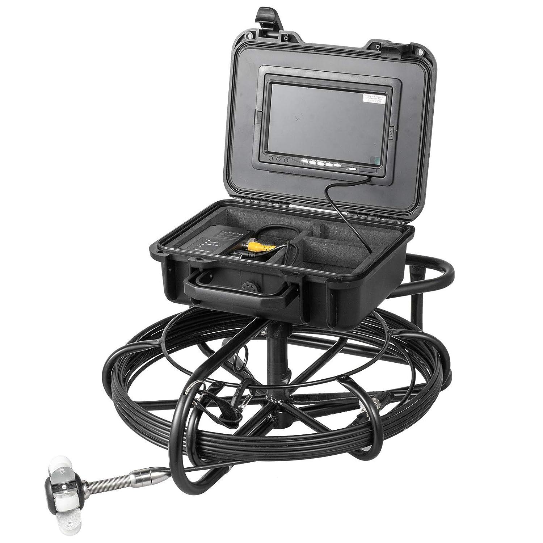 VEVOR Pipe Inspection Camera Sales 30m Displa 100ft Max 45% OFF Sewer 7inch