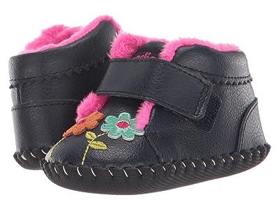 pediped Aryanna Boot Original (Infant) (Navy) Girl