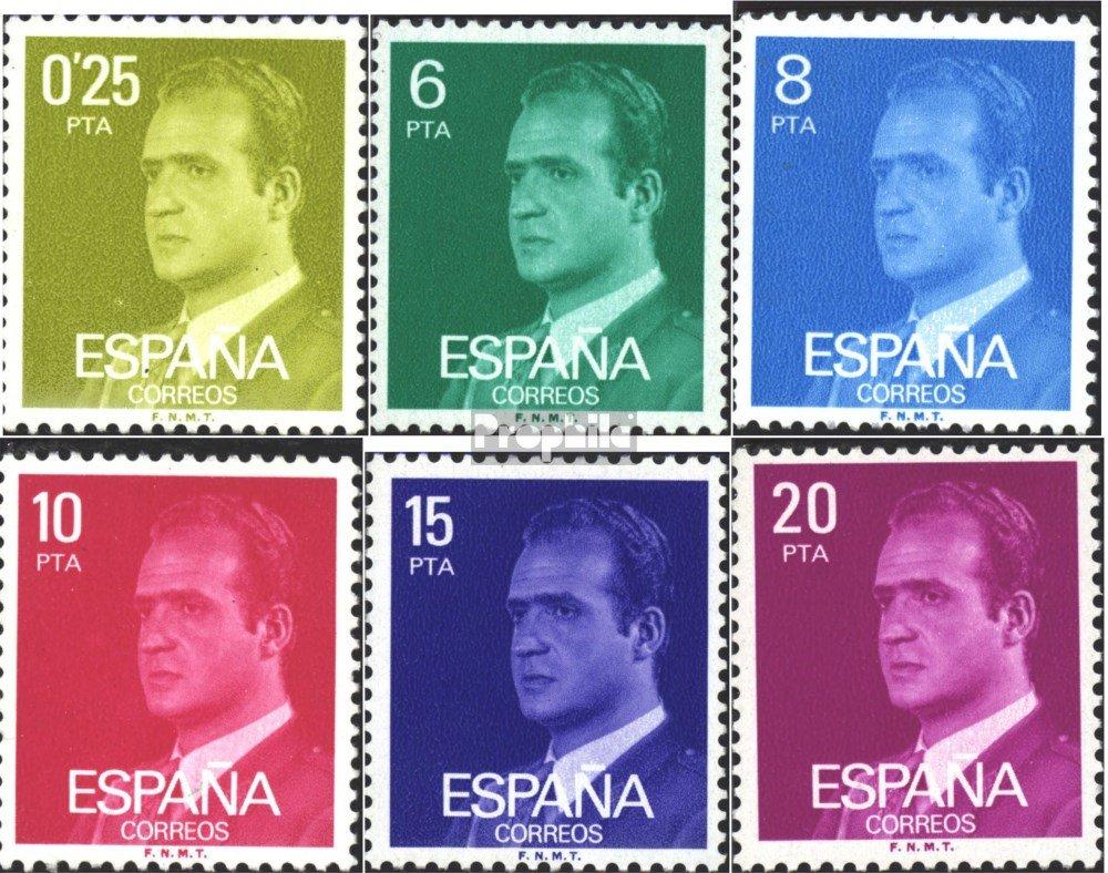 Prophila Collection España Michel.-No..: 2303y-2309y (Completa.edición.) (6 valores) 1982 Juan Carlos (Sellos para los coleccionistas): Amazon.es: Juguetes y juegos